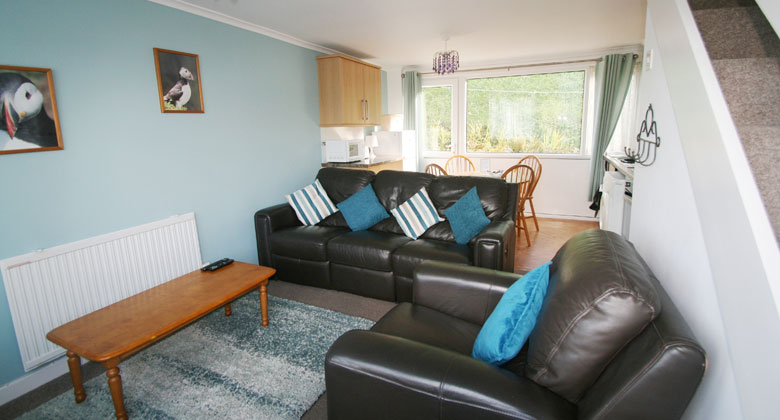 Pembrokeshire self catering holiday at Puffin, 61 Freshwater Bay Holiday Village