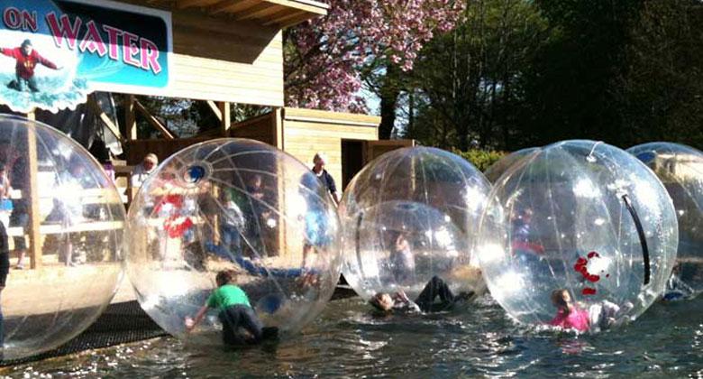 Walk on Water, Heatherton Activity Park, Family Activity Holidays
