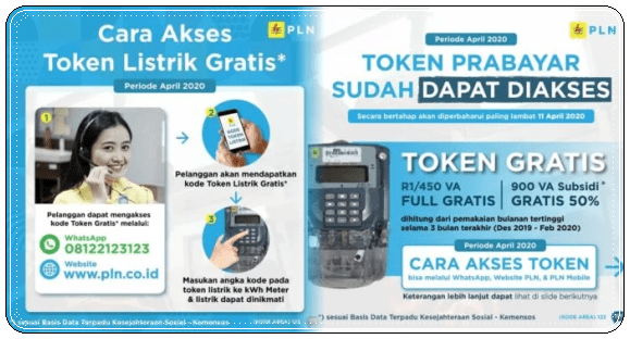 token listrik gratis 2020