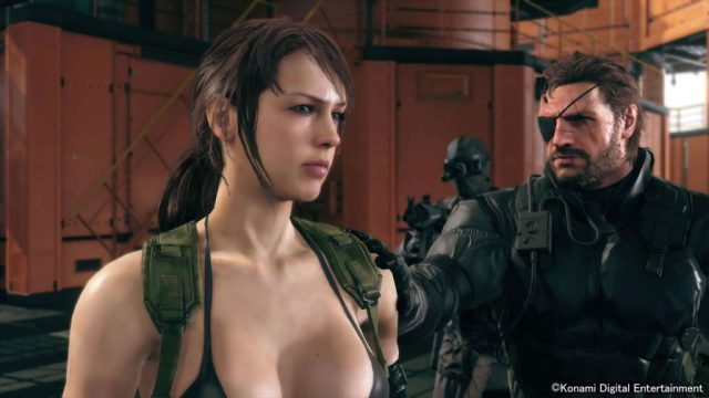 MGSV-The-Phantom-Pain-TGS-2014-Screen-Quiet-Enters-Mother-Base-6[1]