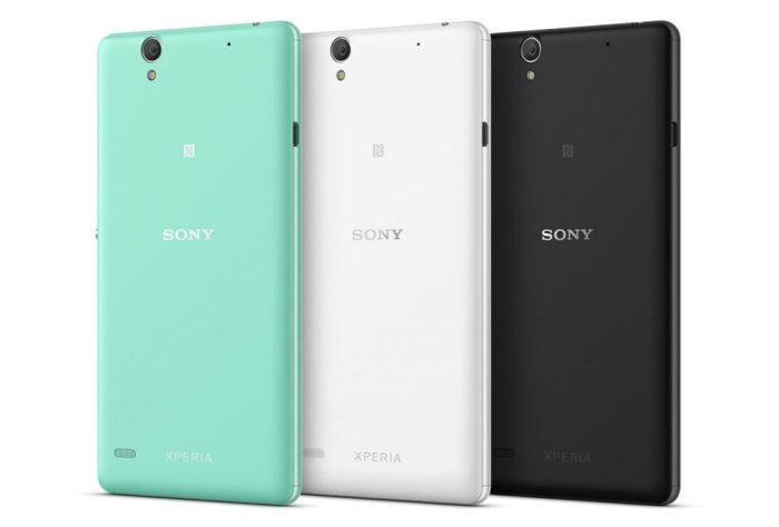 Sony Xperia C4 color