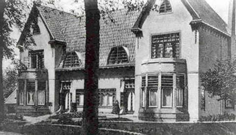 Toen & Nu: 'De oude directiewoning van Cockuyt'