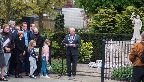 Toespraak burgemeester Frans Backhuijs op 4 mei 2017