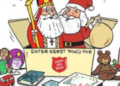 PENTekening: 'Boekenmarkt en SinterKerst Fancy Fair bij het Leger des Heils'