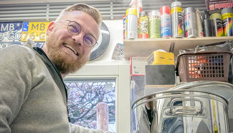 Portret van de week: 'Wie brouwt daar bier in Nieuwegein?'