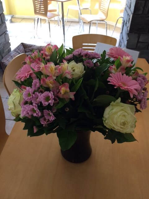 Flowers from the lovely offspring