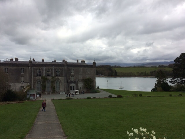 Plas Newydd, with the Menai straits behind