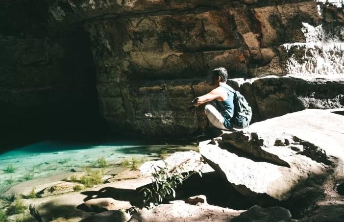 Cavernas na Chapada dos Guimarães