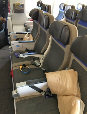 Como é voar para a África do Sul