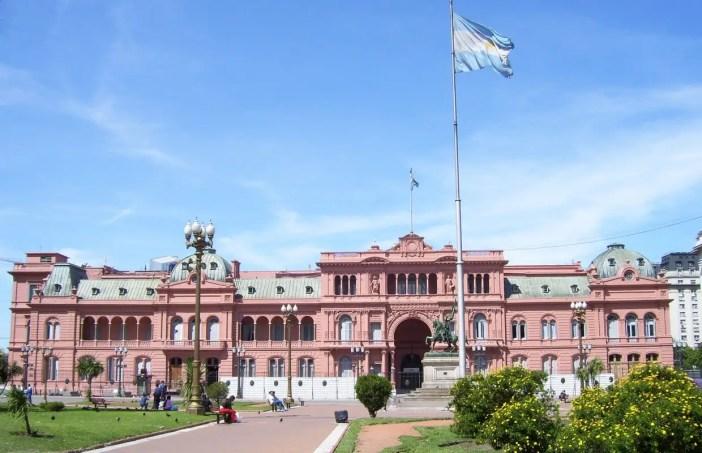 Onde se hospedar em Buenos Aires: Casa Rosada