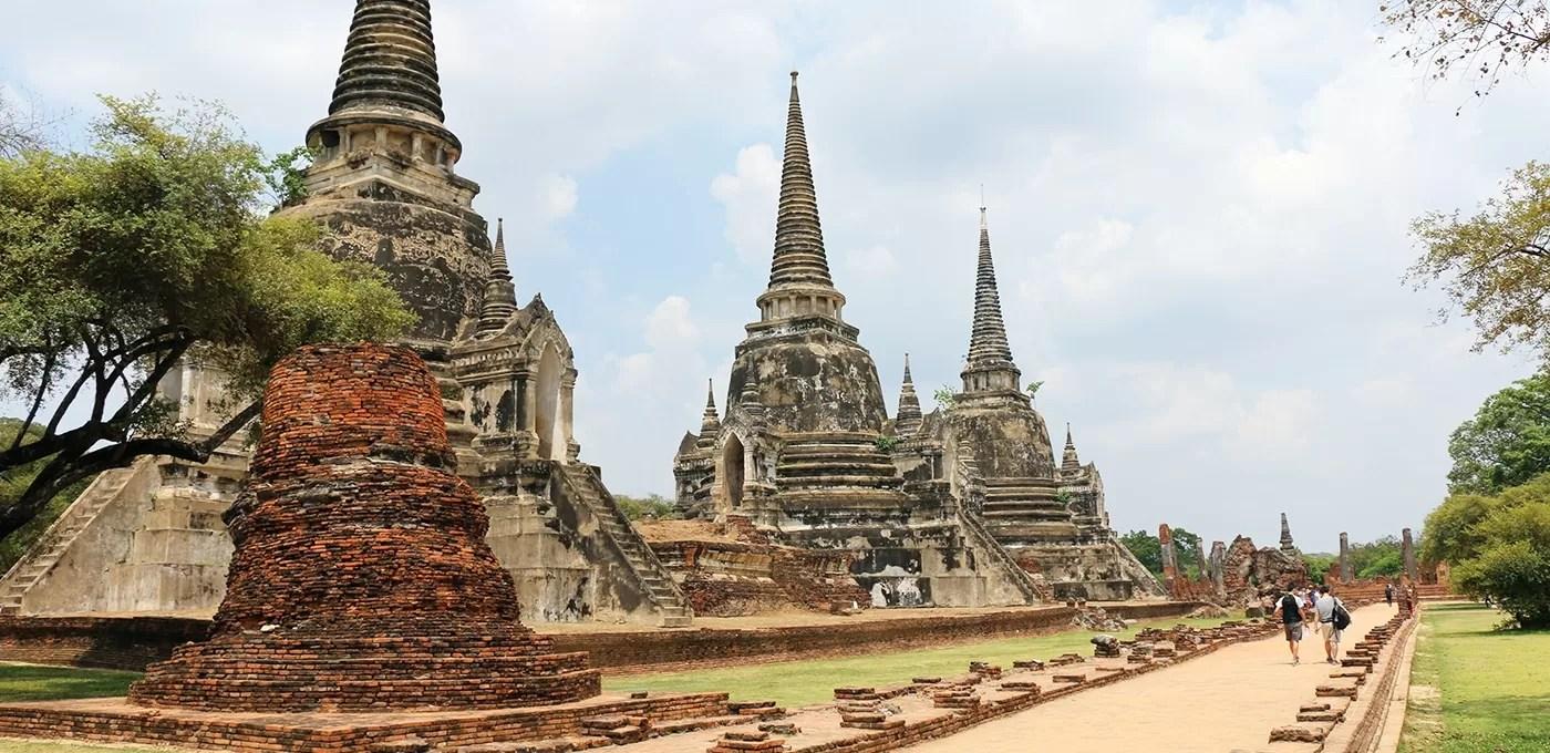 Como chegar a Ayutthaya, na Tailândia, para visitar seus famosos templos