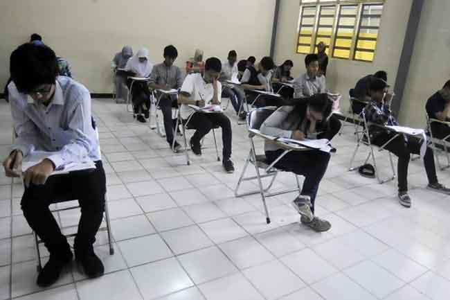 ribuan peserta SBMPTN Banten