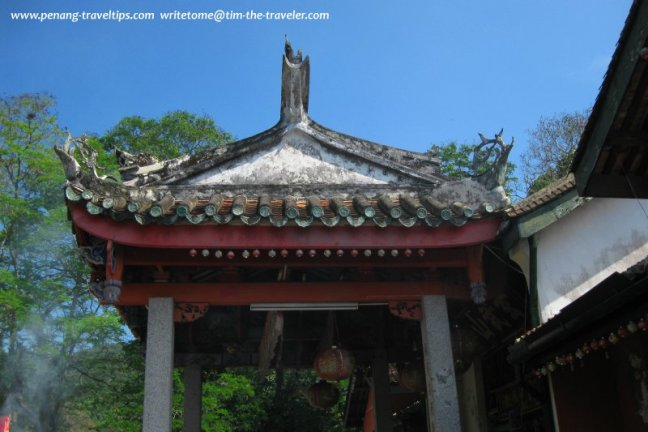 Roof of the Hean Boo Suah Temple