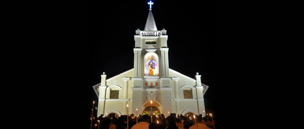 St. Anne's Festival in Bukit Mertajam, Penang
