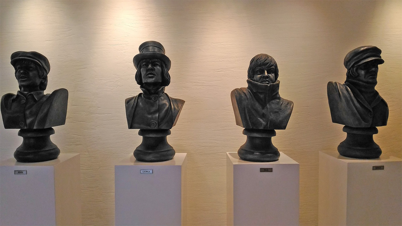 Busts-of-the-Beatles-Hard-Rock-Hotel-Penang