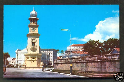Penang Clock Tower view from Light Street