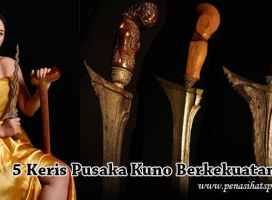 5 Keris Pusaka Bertuah Kuno Berkekuatan Gaib Di Tanah Jawa