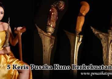 5 Keris Pusaka Kuno Berkekuatan Gaib Di Tanah Jawa