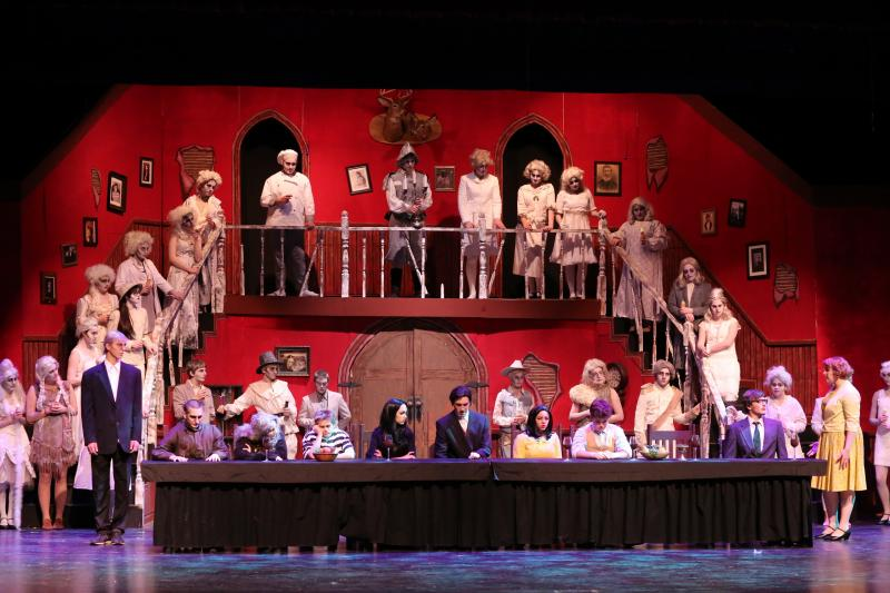 Addams Family Stages At Camden Hills Regional High School
