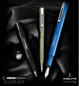 Delta Momo Design Alumina Pen Collection