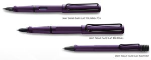 Lamy Safari Dark Lilac Pens