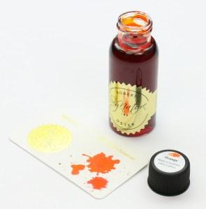 Robert Oster Orange Ink Bottle