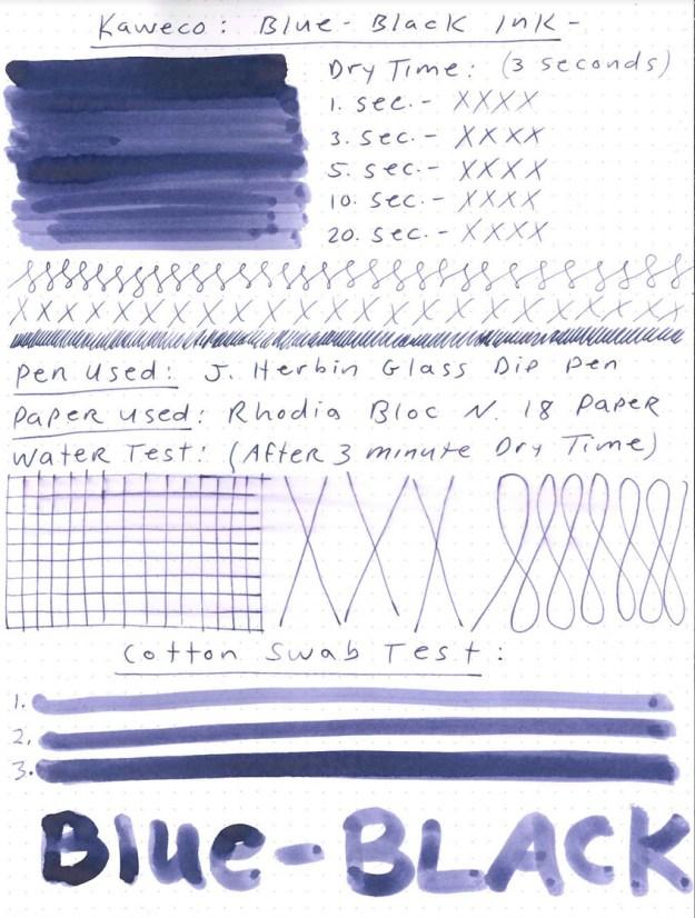 Kaweco Blue-Black ink