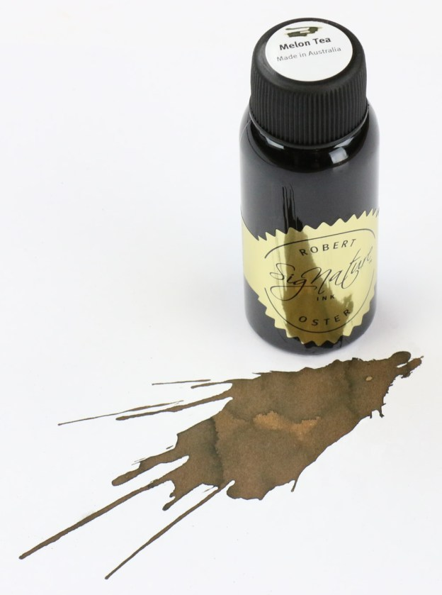 Robert Oster Melon Tea Ink Bottle