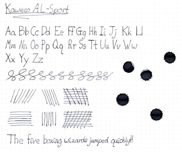 Kaweco AL Sport Fountain Pen Review