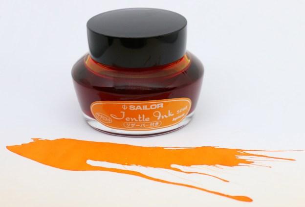 Sailor Jentle Apricot Ink Bottle