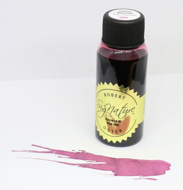 Robert Oster Cherry Blossom Ink Bottle