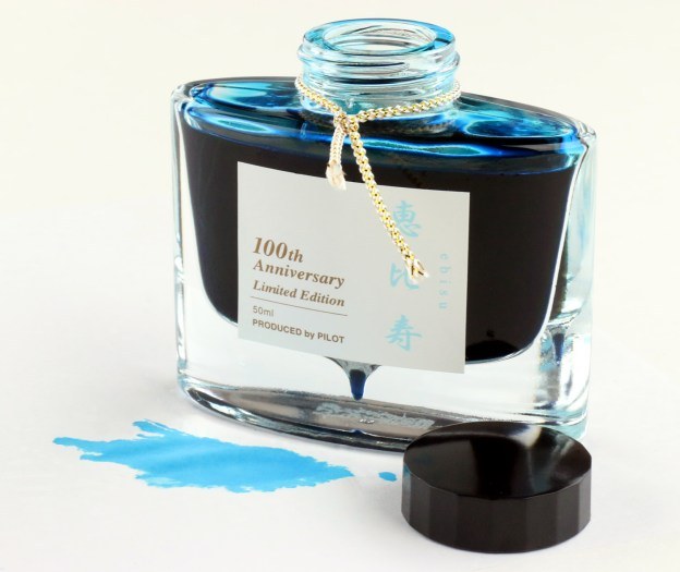 100th Anniversary Pilot Ebisu Ink Bottle