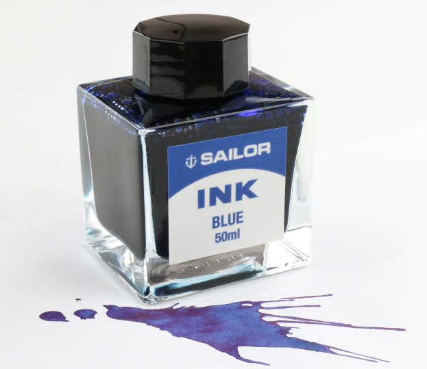 Sailor Blue Ink Bottle