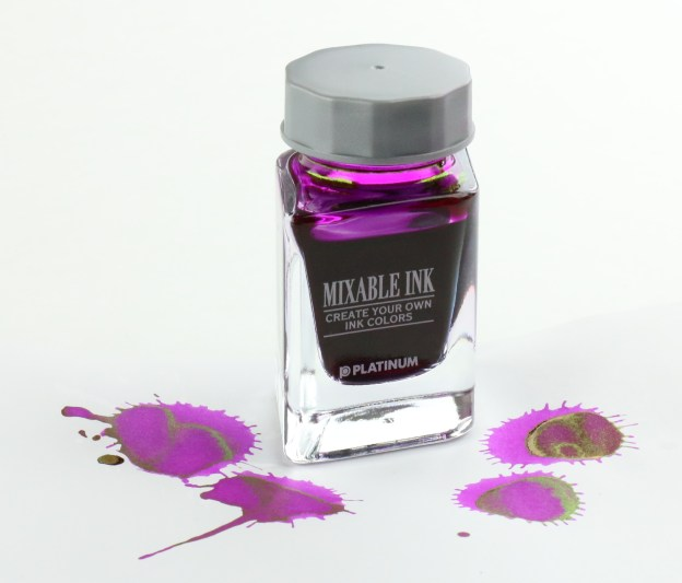 Platinum Silky Purple Mixable Fountain Pen Ink Bottle