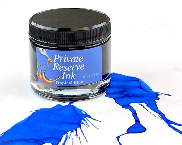 Private Reserve Tropical Blue Ink Review & Giveaway