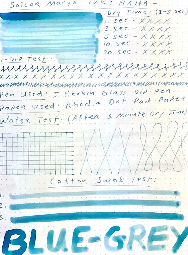 Read the full Sailor Manyo Haha ink review.