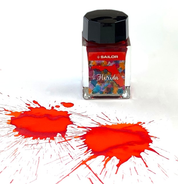 Sailor USA 50 States Florida Ink Review & Giveaway