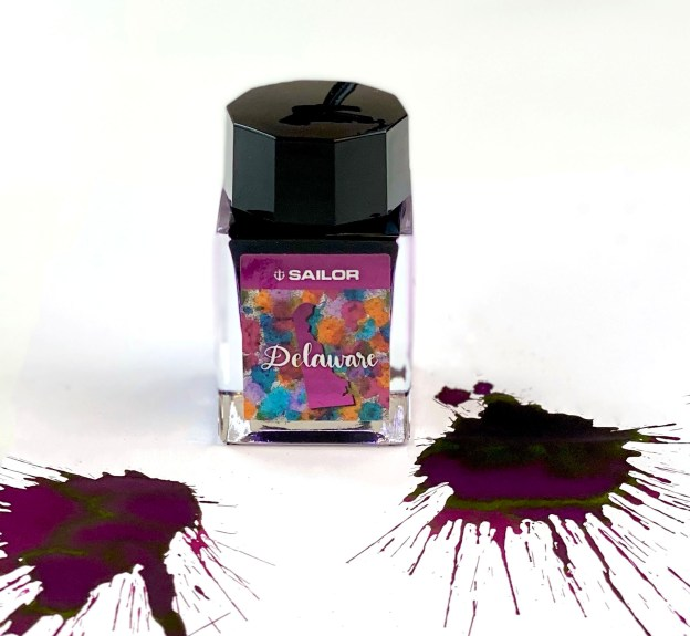 Sailor USA 50 States Delaware Ink Review & Giveaway