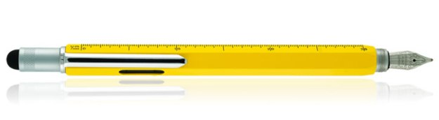 Monteverde One Touch Stylus Tool Fountain Pen in Yellow