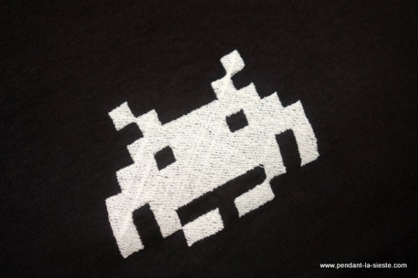 broderie space invaders