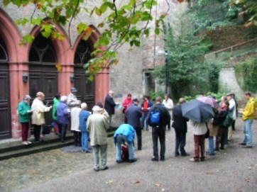 Herbstausflug Münsterhügel und Münster Basel (25.9.2004)