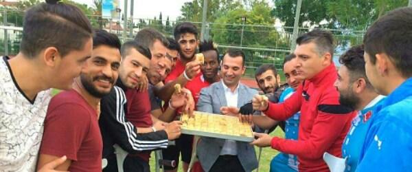 Pendik Ampute Futbol Takımı Antalya Kampı'nda