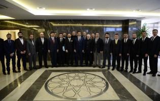 Bakan Tüfenkci Ahisiad'ın Kabul Etti