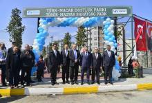 23 Nisan'da Türk- Macar Dostluk Parkı Açıldı