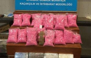 Pendik Limanı'nda Uyuşturucu Operasyonu