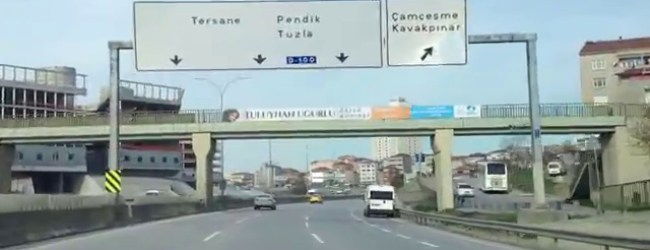 Pendik TEM Otoyolu'nda Trafik Terörü Estirdi ve Yakalandı