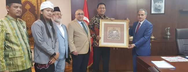 Pendik Kaymakamı İlhan Ünsal Endonezya Semarang Valisi'ni Ağırladı