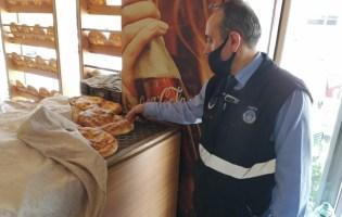 Pendik'te Maskesiz Ekmek Üretimine Geçit Yok