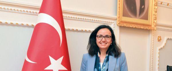 Pendik  Belediye Başkanı Ahmet Cin'den Kaymakam Dr. Hülya Kaya'ya Hayırlı Olsun Ziyareti
