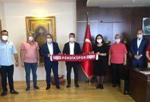 Pendikspor'dan Kaymakam Dr. Hülya Kaya'ya Hayırlı Olsun Ziyareti